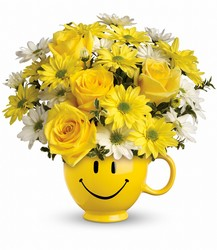 Teleflora's Be Happy Mug